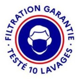 Certification Filtration Testée 10 Lavages